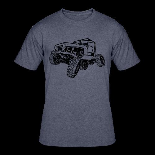 Off-Road Sport Jeep - Men's 50/50 T-Shirt