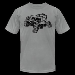 Off-Road Sport Jeep - Men's Fine Jersey T-Shirt