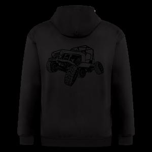 Off-Road Sport Jeep - Men's Zip Hoodie