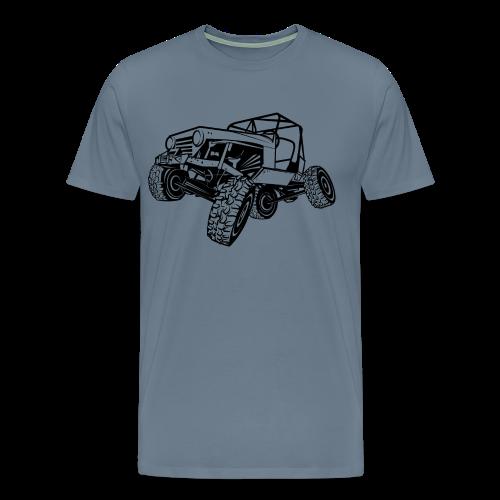 Off-Road Sport Jeep - Men's Premium T-Shirt