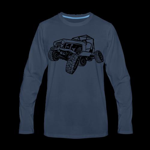 Off-Road Sport Jeep - Men's Premium Long Sleeve T-Shirt