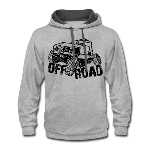 Off-Road 4x4 Jeep - Contrast Hoodie