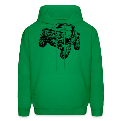 Rock Crawling Off-Road Truck Shirt - Men's Hoodie