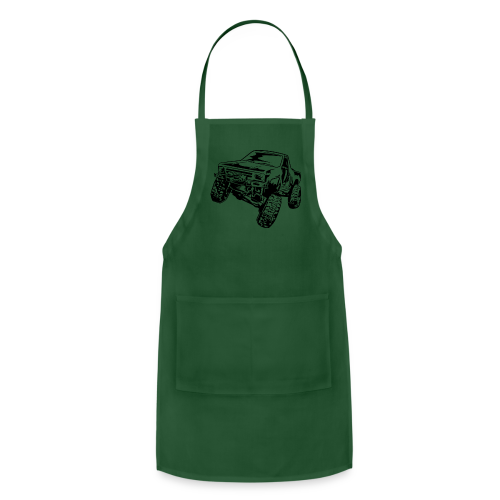 Rock Crawling Off-Road Truck Shirt - Adjustable Apron