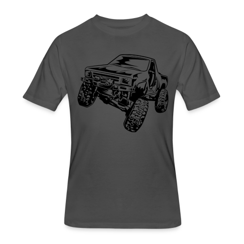 Rock Crawling Off-Road Truck Shirt - Men's 50/50 T-Shirt