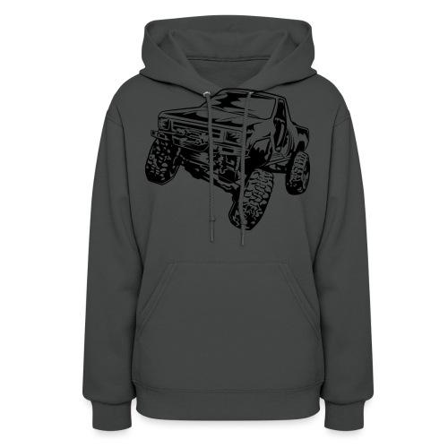 Rock Crawling Off-Road Truck Shirt - Women's Hoodie