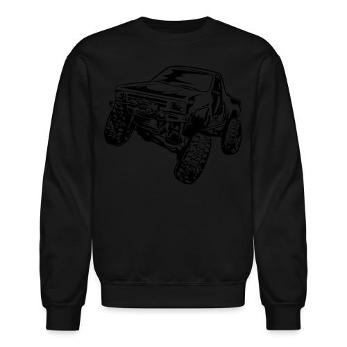 Rock Crawling Off-Road Truck Shirt - Crewneck Sweatshirt