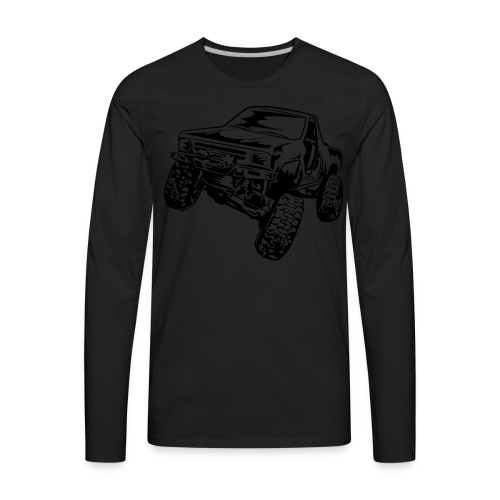 Rock Crawling Off-Road Truck Shirt - Men's Premium Long Sleeve T-Shirt