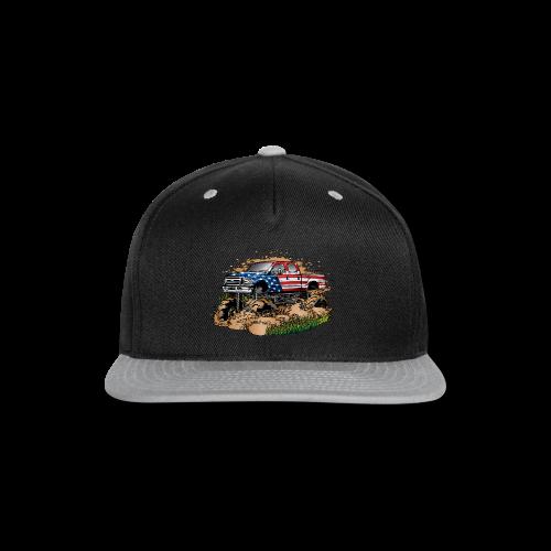 Mud Truck USA - Snap-back Baseball Cap