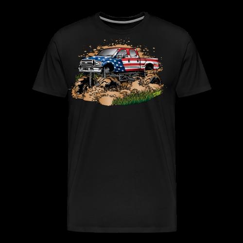 Mud Truck USA - Men's Premium T-Shirt