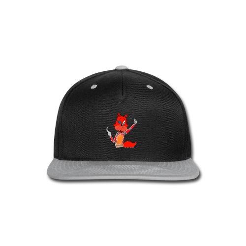 Men's T-Shirt - Cute Foxy - Snap-back Baseball Cap