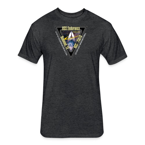 Adult Sizes Cadet Shirt - Fitted Cotton/Poly T-Shirt by Next Level