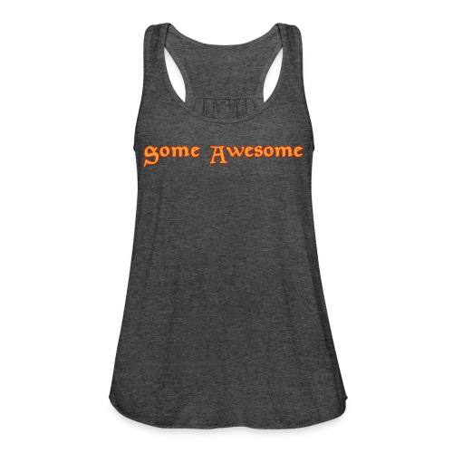 Some Awesome V-neck - Women's Flowy Tank Top by Bella