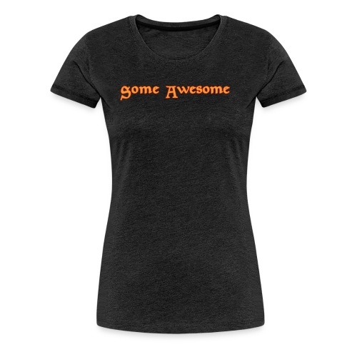 Some Awesome V-neck - Women's Premium T-Shirt
