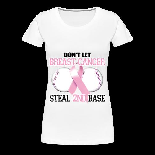 Womens Breast Cancer Tshirt - Women's Premium T-Shirt