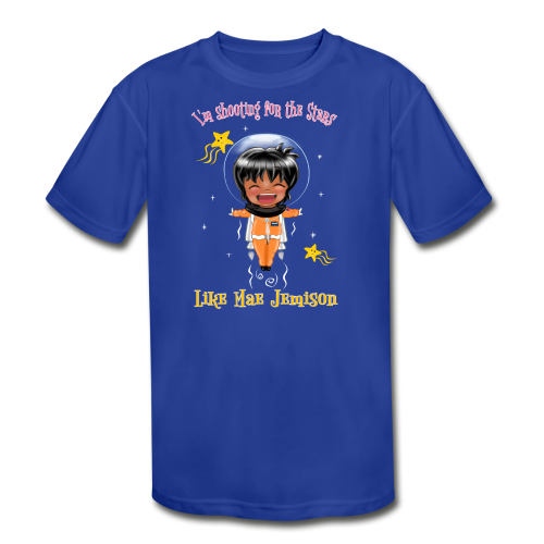 Mae Jemison Toddler Tee - Kid's Moisture Wicking Performance T-Shirt