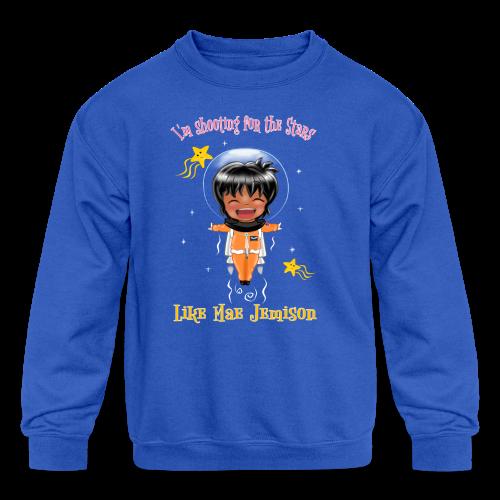 Mae Jemison Toddler Tee - Kid's Crewneck Sweatshirt