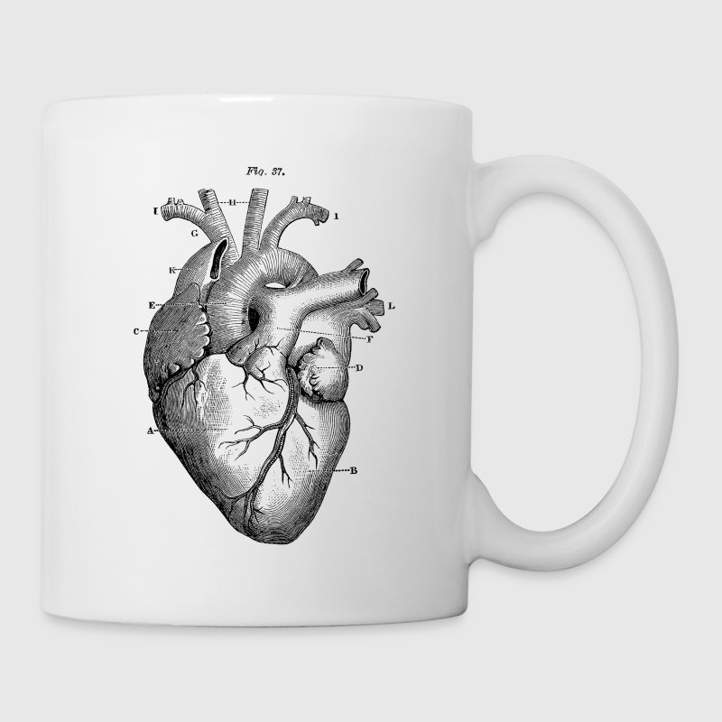 Heart Diagram - Coffee/Tea Mug