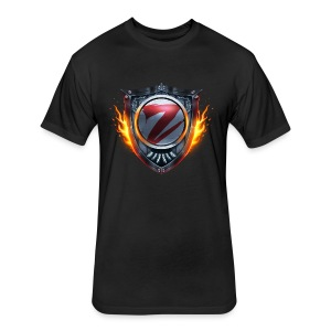 Zentrion Shirt (Men) - Fitted Cotton/Poly T-Shirt by Next Level