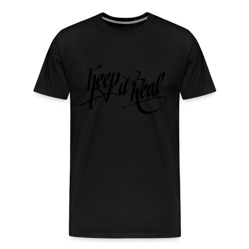 Keep It Real Hoodie - Men's Premium T-Shirt