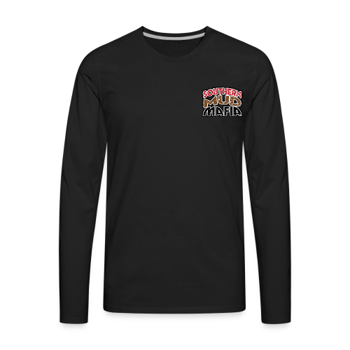 Southern Mud Mafia BACK - Men's Premium Long Sleeve T-Shirt
