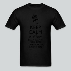 Freddy Mercury Keep Calm - Men's T-Shirt