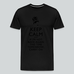 Freddy Mercury Keep Calm - Men's Premium T-Shirt