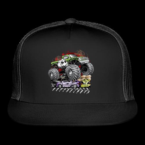 Mega Death Monster Truck - Trucker Cap