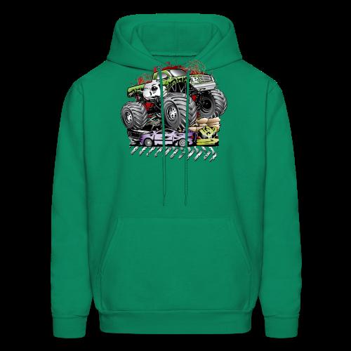 Mega Death Monster Truck - Men's Hoodie