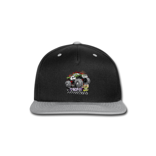 Mega Death Monster Truck - Snap-back Baseball Cap