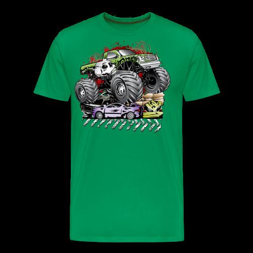 Mega Death Monster Truck - Men's Premium T-Shirt