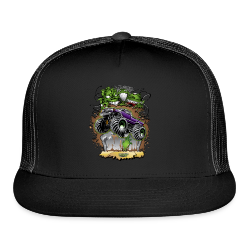 Ghoulish Monster Truck - Trucker Cap