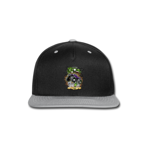 Ghoulish Monster Truck - Snap-back Baseball Cap
