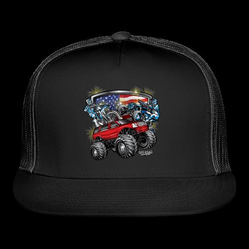 4th of July Monster - Trucker Cap