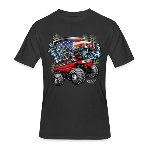 4th of July Monster - Men's 50/50 T-Shirt