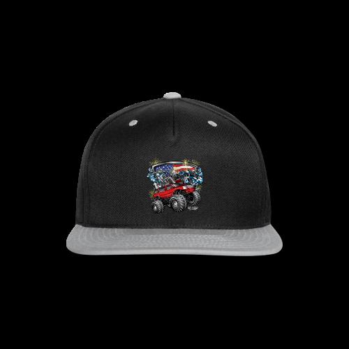 4th of July Monster - Snap-back Baseball Cap