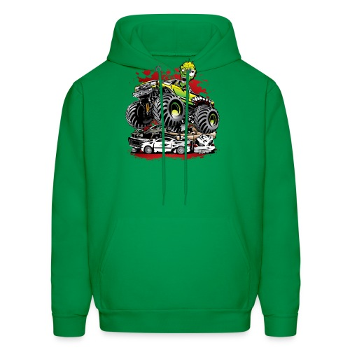 Monster Truck Ghoul - Men's Hoodie