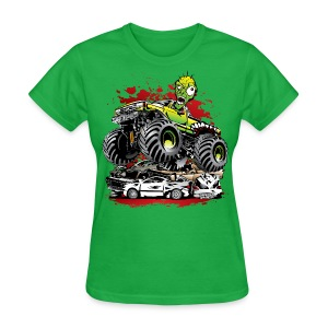 Monster Truck Ghoul - Women's T-Shirt