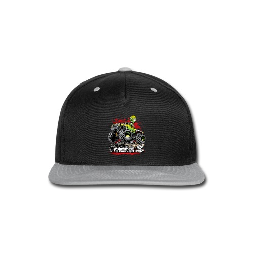 Monster Truck Ghoul - Snap-back Baseball Cap