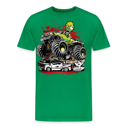 Monster Truck Ghoul - Men's Premium T-Shirt
