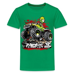 Monster Truck Ghoul - Kids' Premium T-Shirt