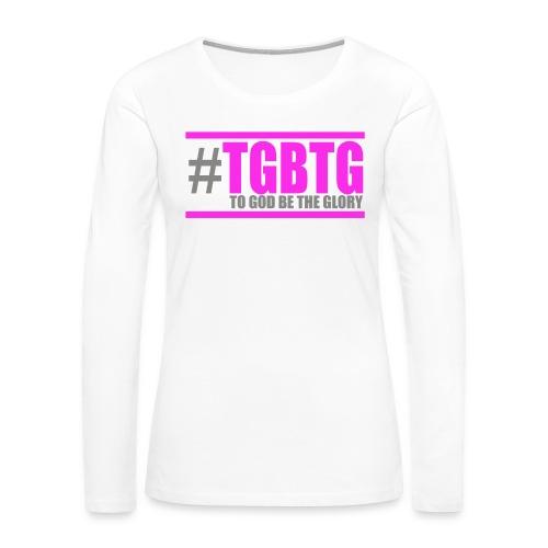 #TGBTG Women T-Shirt - Women's Premium Long Sleeve T-Shirt