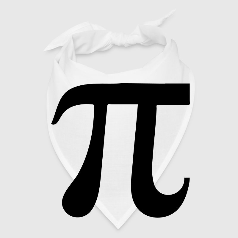Mathematic symbol Pi Caps - Bandana