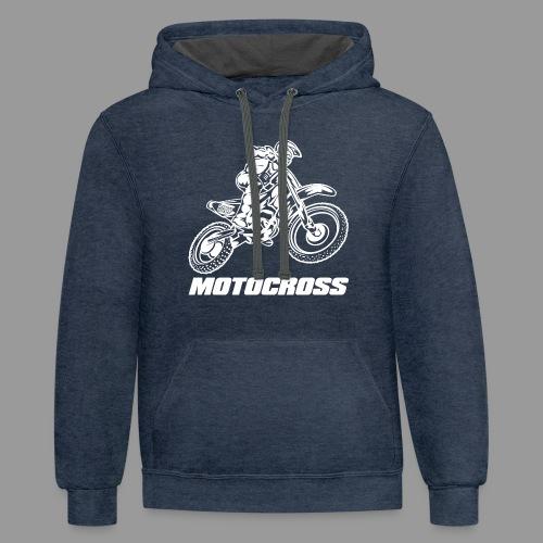 Motocross Yamaha - Contrast Hoodie