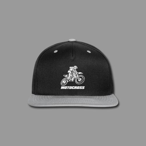 Motocross Yamaha - Snap-back Baseball Cap
