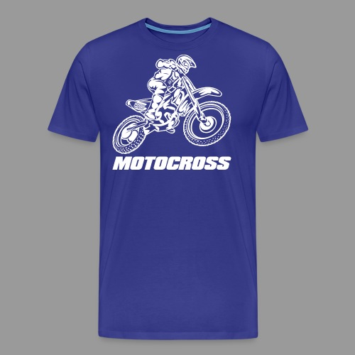 Motocross Yamaha - Men's Premium T-Shirt