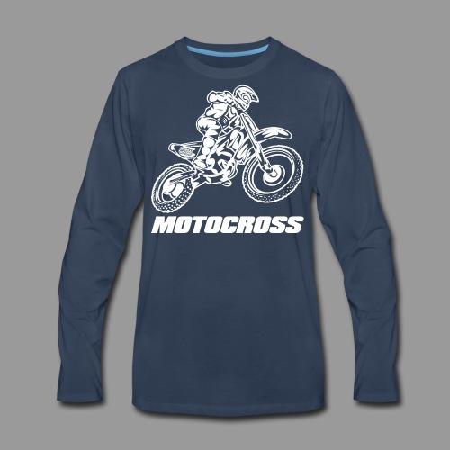 Motocross Yamaha - Men's Premium Long Sleeve T-Shirt