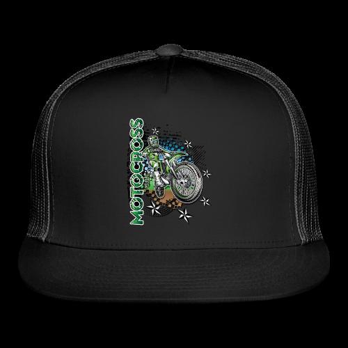 Motocross Kawasaki - Trucker Cap