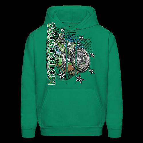 Motocross Kawasaki - Men's Hoodie