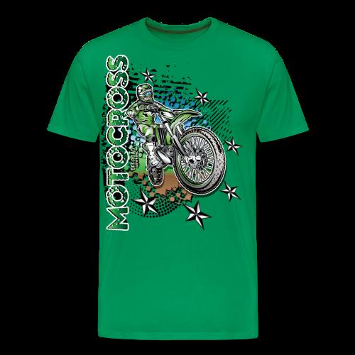 Motocross Kawasaki - Men's Premium T-Shirt